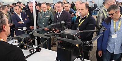 Exposición Drones Policiales 2018